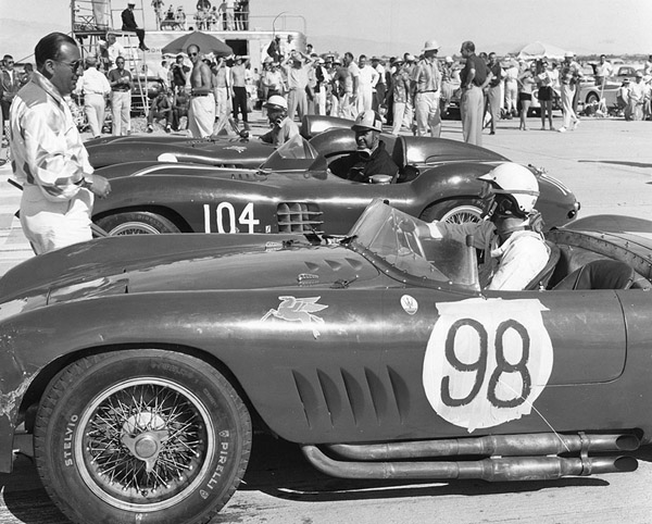 sports in the 1950s Sports car racing at andrews air force base in the 1950s ferrrari, mg, porsche and others competed luminaries like dave garroway are spotted in the pits s172.