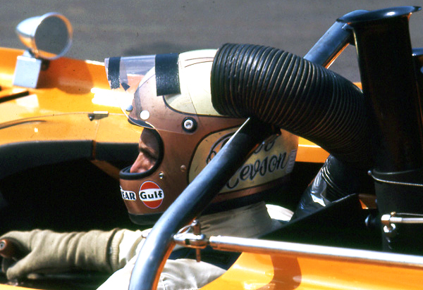 Revson McLaren M8F - William Edgar photo