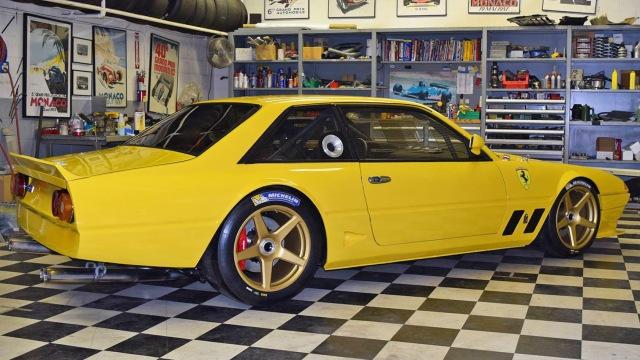 Jim Busby Ferrari 400i GTC - Photo courtesy of Jim Busby Racing