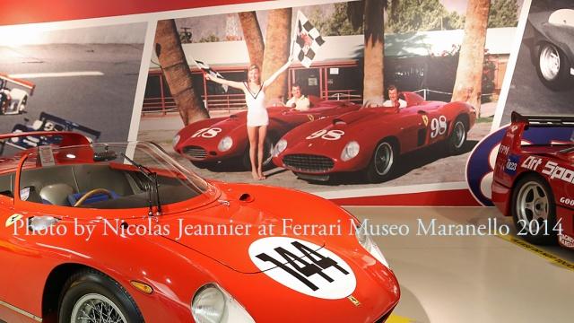 Photo by Nicolas Jeannier at Ferrari Museo Maranello 2014
